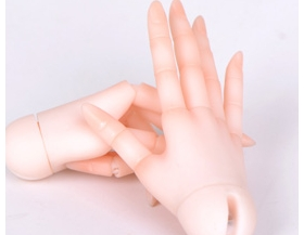 1/3 size girl joint hands